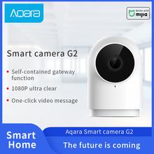 100 Aqara inteligentny aparat G2 bramy edycja dla Xiaomi inteligentny dom Zigbee Wifi bezprzewodowe połączenie 1080P widok praca z Mijia Mihome tanie tanio wireless VIDEO HD 1080 P CN (pochodzenie)