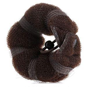 Image 4 - 2 шт., женские Инструменты для укладки волос, волшебная губка, булочка, кольцо пончик, формирователь пены, инструмент для девочек, сделай сам, стиль волос
