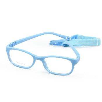 Flexible Kids Eyeglasses Frame Size 44/16 TR90 Children Glasses, No Screw, Unbreakable Safe Light Boys Girls Optical Glasses unbreakable
