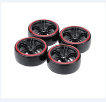 1/10 RC auto drift tire double-layer drift tire hub Traxxas HSP Tamiya HPI universele(China)