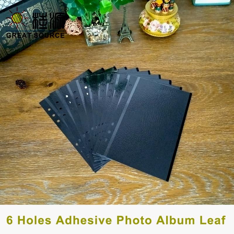 Adhesive Photo Album Leaf 6R Photo Leaf W14.5*21cm(5.709