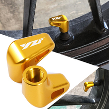High Quality Item Motorcycle Aliminum Wheel Tire Valve Stem Cap For Yamaha YZF R1 R1M R25 R3 R6 Tracer 700 900 GT Tracer 7/9 GT