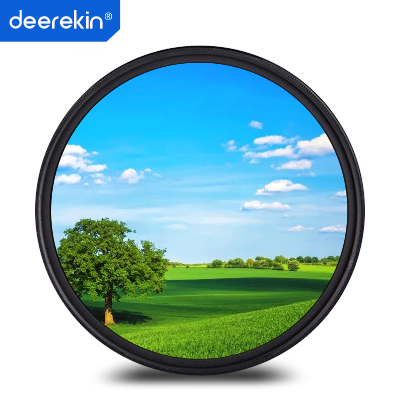 Multithreaded Glass Filter for Canon EOS 77D 82mm Multicoated C-PL Circular Polarizer