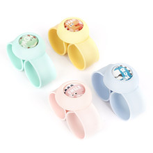 Cute Cartoon Natural Children's Mosquito Repellent Bracelet Plant Essential Oil Mosquito Repellent Ring Wristband Watch Tslm1(China)