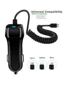 Adaptive Car-Charger Quick-Data-Cable Micro-Type Samsung Note-10 Plus Galaxy S10 USB
