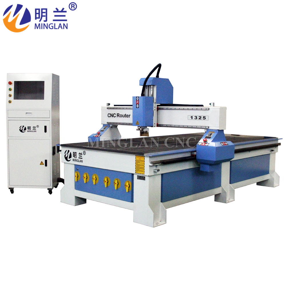 China Cheap Price Cnc Router 1300*2500mm Wood Cnc Cutter And Engraver 1325 Cnc Milling Machine For Woodworking Cnc Machine