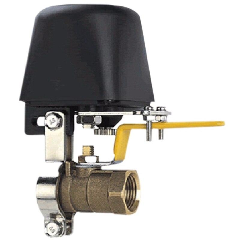 EASY-Dc8V-Dc16V manipulador automático válvula de cierre para alarma de apagado tubería de agua de Gas Dispositivo de seguridad para cocina y baño DC8V-DC16V, manipulador automático, válvula de cierre para alarma, dispositivo de seguridad de tubería de agua de Gas para cocina y baño