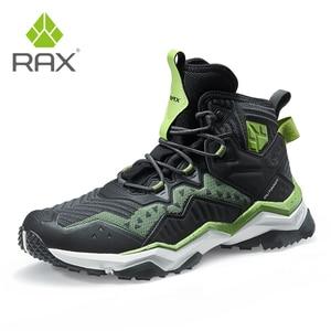 Image 2 - Кроссовки RAX мужские и женские кожаные, водонепроницаемая обувь для походов и отдыха на открытом воздухе