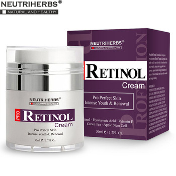 Retinol Moisturizer Cream for Face and Eye Area with Hyaluronic Acid, Vitamin E - Best Day and Night Anti Aging Formula 50g/pc 1