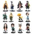 Экшн-фигурки из аниме «рассекающий демонов», киметасу, no Yaiba, игрушки, Kamado Tanjirou Nezuko Zenitsu, Inosuke Giyuu, ПВХ Модель, кукла, подарки для детей