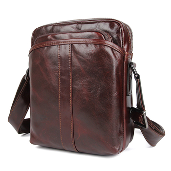Messenger Shoulder Crossbody Bags Man Cow Leather 2019 Men Business Casual Travel Shoulder Bag Male Crossbody Bag фото