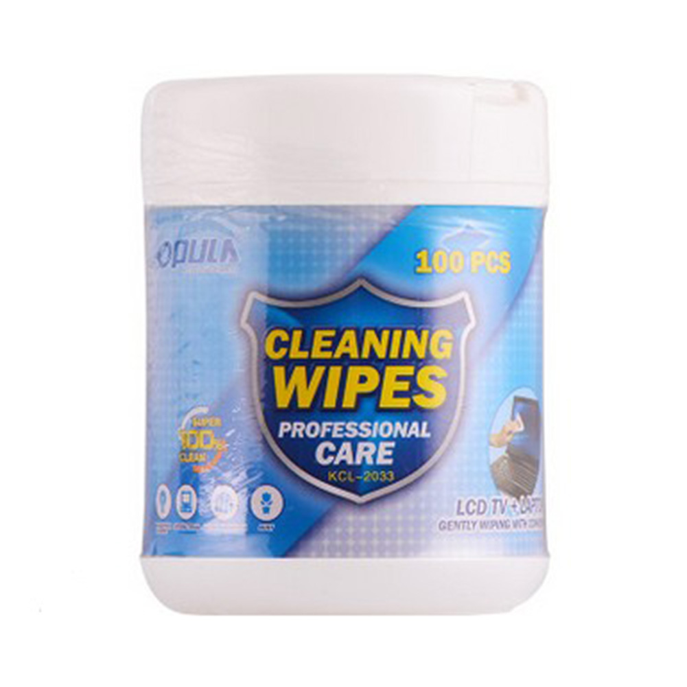 100Pcs Alcohol Wet Wipes Clean Nursing Tissue Protection Vehicle Non-woven Fabrics Disinfection Wipes