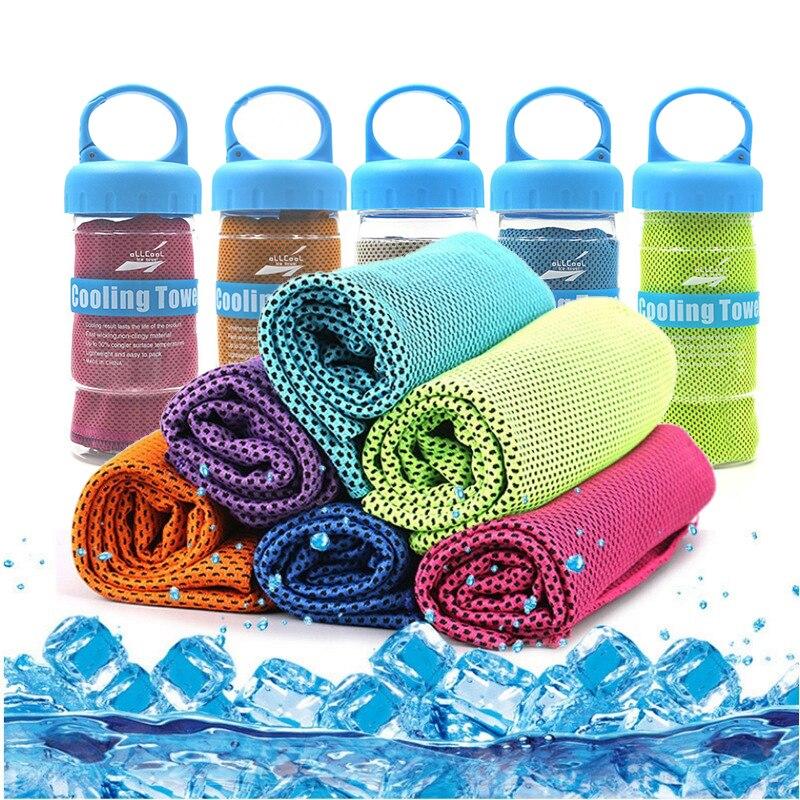 Спортивное Полотенце из микрофибры, быстросохнущее пляжное полотенце для быстрого охлаждения лица, для фитнеса, йоги, рыбалки