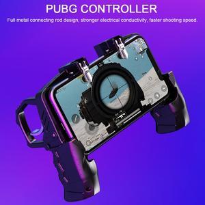Image 2 - FPS 게임용 PUBG COD 휴대 전화 게임 패드 조이스틱 슈터 트리거 아이폰 안드로이드 게임 컨트롤러 용 화재 버튼