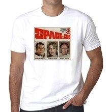 Espaço 1999 clássico 1970s sc-fi geek men t shirt camisas dos homens t camisas moda casual t tops manga curta t roupas