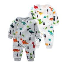 New born Baby Boy Clothes Cartoon Printing Costume Newborn R