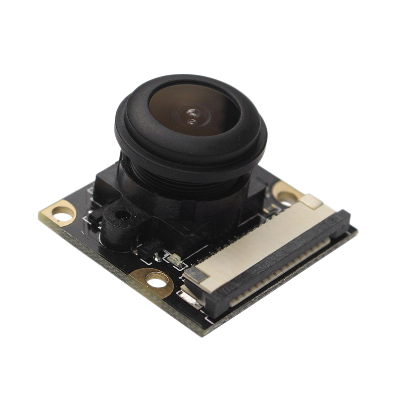 1080P Camera Module Board 5Mp 160 Degree Fish Eye Automatic Ir-Cut For Raspberry Pi