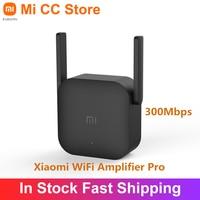 Xiaomi-Amplificador WiFi Pro Original, repetidor Wifi de 300Mbps, extensor de cobertura de señal, 2,4G, Mi inalámbrico