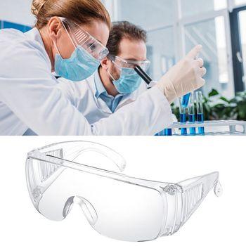 Okulary ochronne z osobistym wyposażeniem ochronnym ochrona okularów PPE wyczyść duży wpływ wentylowane boki do laboratorium stolarki spawania tanie i dobre opinie Transparent 152 x 140 x 55mm 1 PC Z tworzywa sztucznego CN (pochodzenie) goggle 5 5mm 15 2cm Unisex