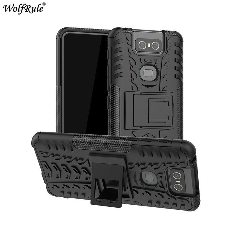 For Cover <font><b>Asus</b></font> <font><b>Zenfone</b></font> <font><b>6</b></font> ZS630KL <font><b>Case</b></font> TPU & PC Holder Armor Bumper Phone <font><b>Case</b></font> For <font><b>Asus</b></font> <font><b>Zenfone</b></font> <font><b>6</b></font> ZS630KL 6Z <font><b>6</b></font> <font><b>2019</b></font> Cover <font><b>6</b></font>.4'' image