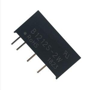 Image 5 - 5PCS B1212S 2W SIP 4 B1212S DC DC di Commutazione modulo di alimentazione 12V a 12V Isolato chip di potenza 100% Nuovo e originale
