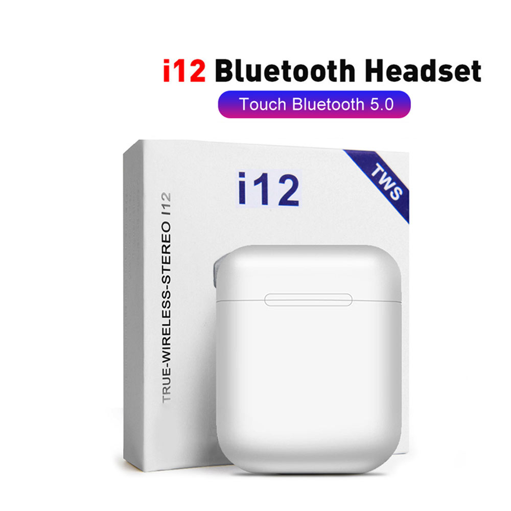 i12tws <font><b>Wireless</b></font> <font><b>Earphones</b></font> Touch control <font><b>Bluetooth</b></font> Earbuds <font><b>5.0</b></font> Stereo Sport Earpiece Smart Touch <font><b>Earphone</b></font> <font><b>Earphones</b></font> <font><b>Wireless</b></font> image