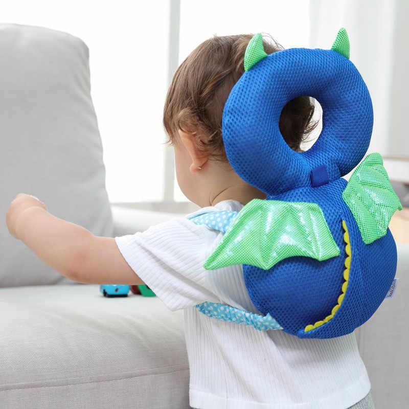 Cojín de protección para la cabeza de recién nacido bebé almohada transpirable para niños pequeños resistente a los golpes reposacabezas suministros para seguridad de bebés