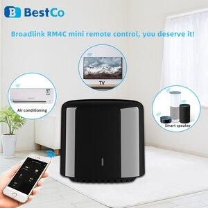 Image 2 - Broadlink RM4C Mini commutateur WIFI de mouvement de haricot noir télécommande intelligente IR domotique intelligente fonctionne avec Google Home