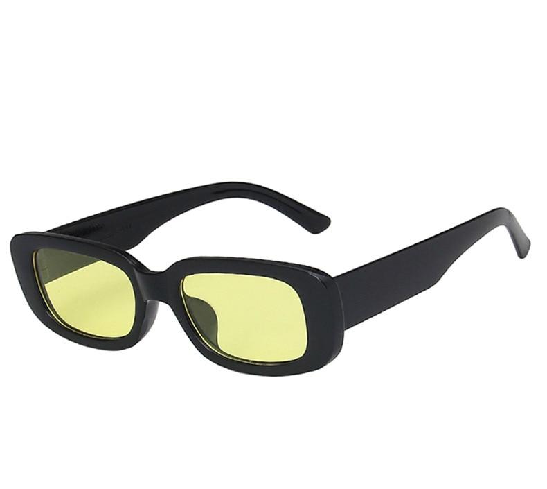 Rectangle Sunglasses Women Vintage Brand Designer Square Sun Glasses CLOVER JEWELLERY