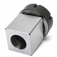 Hole Drilling Cutting Lathe Durable Accessories Engrave Machine Home Spring Chuck Standard Hex Square Collet Block Hard Holder