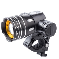 ELOS-Bicycle T6 LED Light Bike Light Front Lamp Outdoor Zoomable Torch Headlight USB Rechargeable