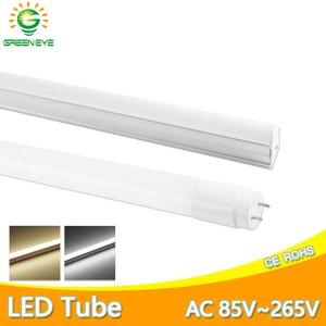 Image 1 - Ampoule Tube T8 LED néon, 10w 60cm, ac 110/220v, Tube Fluorescent à LED, lampe à LED, laiteux, blanc chaud, rouge, bleu, rose, SMD2835