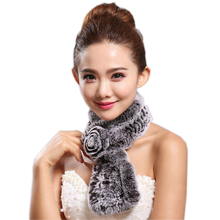 Classic Style Women Winter Scarves Wraps Handmade Real Rex R