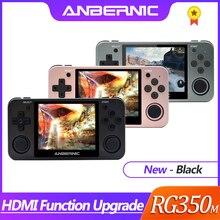 ANBERNIC consola de juegos Retro RG350 con HDMI, consola ps1 de 64 bits opendingux de 3,5 pulgadas, más de 2500 Juegos RG350m, regalo para niños