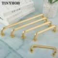 3 стиля/Золотая кухонная дверная ручка и ручки для шкафа  твердая латунная ручка для мебели/бесплатная доставка