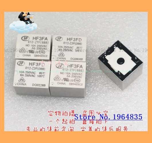 Relais HF3FA 012-ZTF (088) 12VDC 5 T73 10A