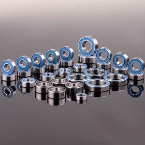 Image 1 - חדש אנרון כחול כדור נושאות 33PCS ערכת מטרי גומי אטום על שני הצדדים RC רכב עבור Traxxas דואר Revo מירוץ 52100 כרום פלדה