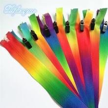 60 см 10 шт 3 # цветной нейлоновый комплект для шитья на молнии