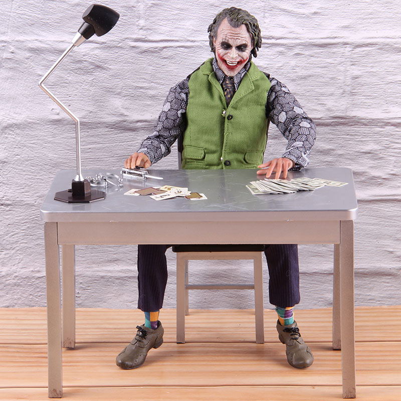 The Joker Batman The Dark Knight PVC Collectible <font><b>Action</b></font> <font><b>Figure</b></font> 1/6th <font><b>Scale</b></font> Model Toy Hot Toys Joker 20 DX11 image