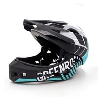Full Covered Kids Helmet Balance Bike Children Full Face Helmet Cycling Motocross Downhill MTV OFF ROAD DH BMX Safety Helmet
