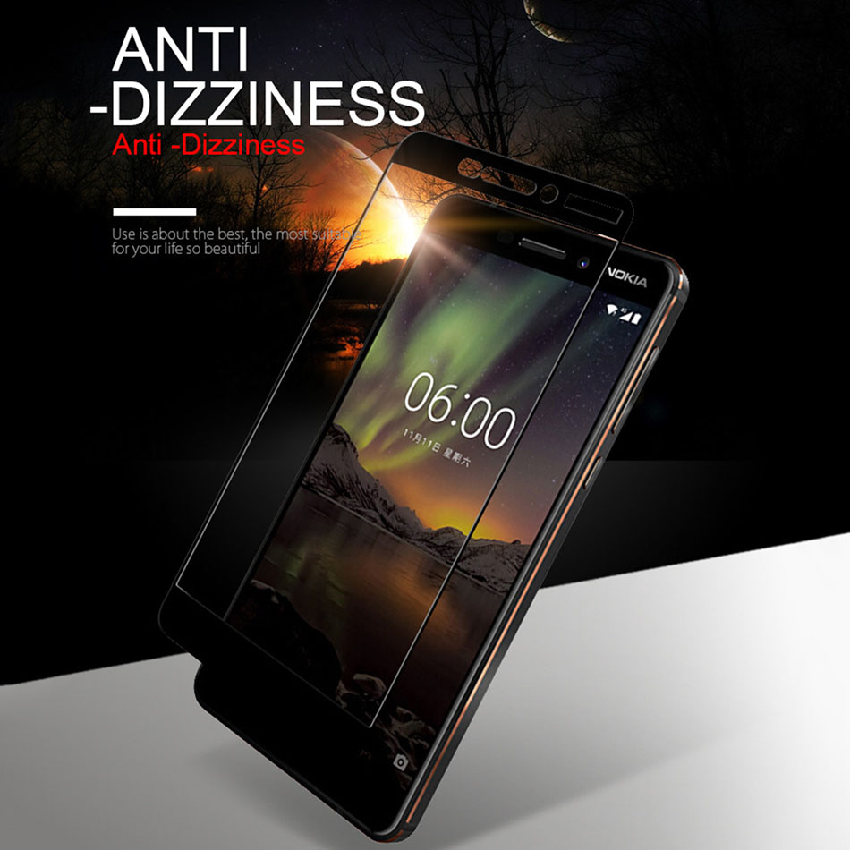 Image 4 - 2 Pcs Tempered Glass For Nokia X6 X3 X5 X7 Nokia 5 6 7 8 1 2 3 Screen Protector Protective Glass For Nokia 7 Plus Film-in Phone Screen Protectors from Cellphones & Telecommunications
