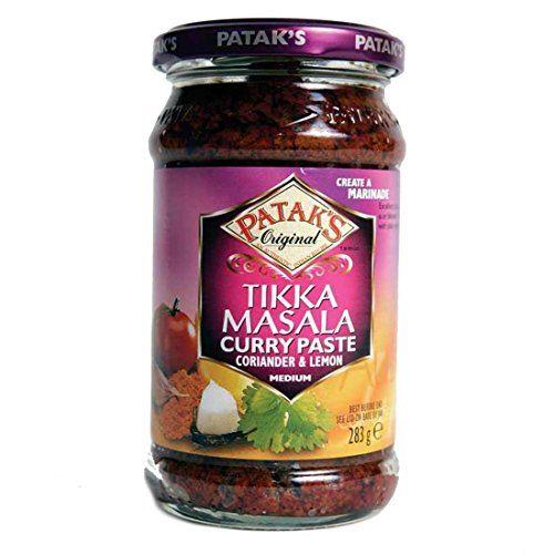 Pataks | Tikka Masala Curry Paste | 1 X 283g