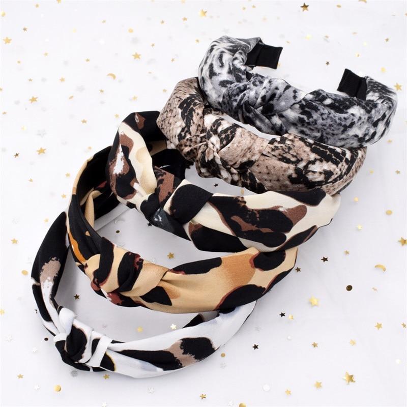 2019 Autumn Winter Classic animal Velvet Hairband Girls Hair Accessories Women Hair Headband Fashion   Headwear   Headdress