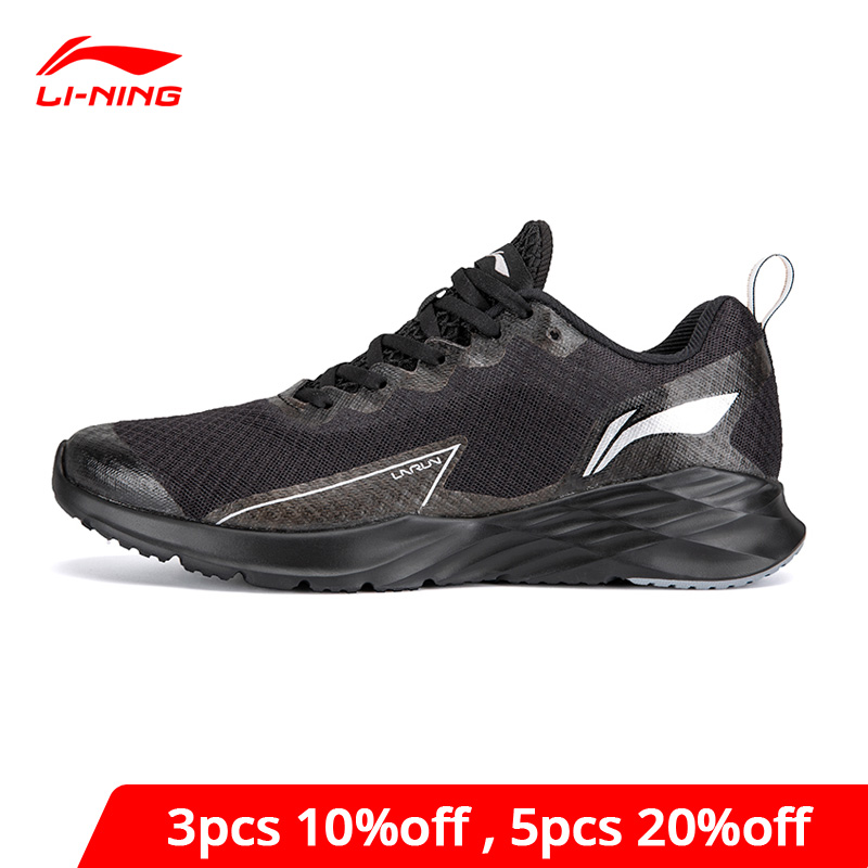 Li-Ning Men CRAZYRUN Cushion Running Shoes Breathable Fitness LiNing Li Ning Light Weight Comfort Sport Shoes ARHP195 XYP939