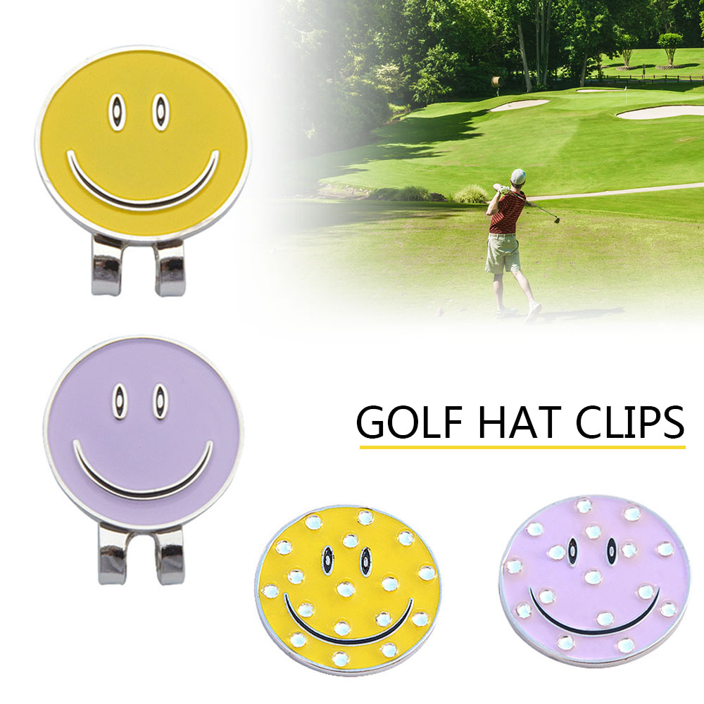New Professional Golf Cap Clip Metal Golf Ball Professional Golf Training Aids Accessories 1PC Magnetic Hat Clip High Quality