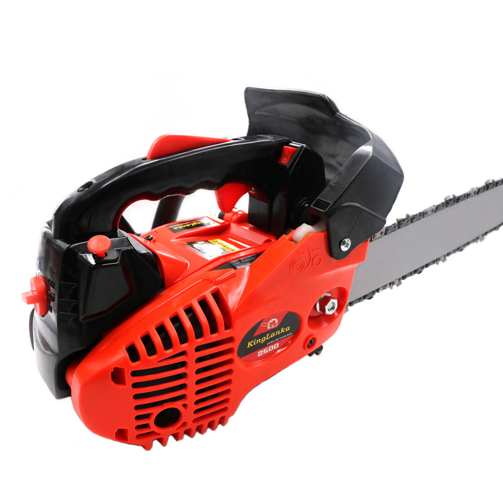 """Image 4 - Professional wood cutter chain saw 2500 Gasoline CHAINSAW ,25CC CHAIN SAW, Small Mini Chainsaw with 12""""BladeChainsaws   -"""