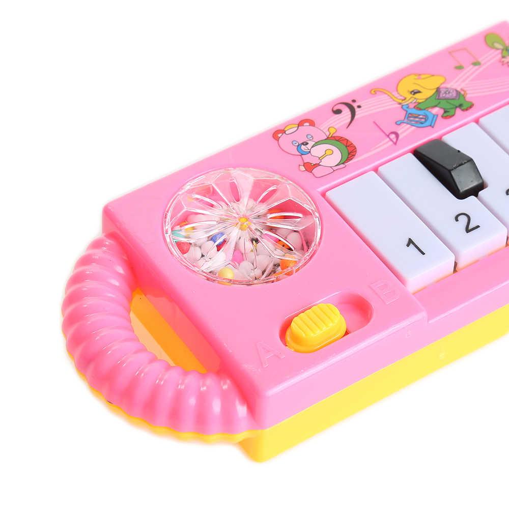 Anak-anak Musik Piano Balita Perkembangan Mainan Plastik Anak-anak Musik Piano Awal Pendidikan Mainan Bayi Piano Mainan Alat Musik