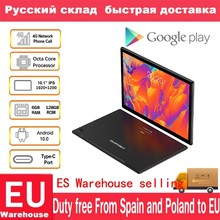 Teclast-Tabletas M40 de 10,1 pulgadas, Octa Core, red Dual 4G, llamadas telefónicas, 1920x1200, 6GB RAM 128GB ROM, T618, GPS, Android 10,0, Tablet PC