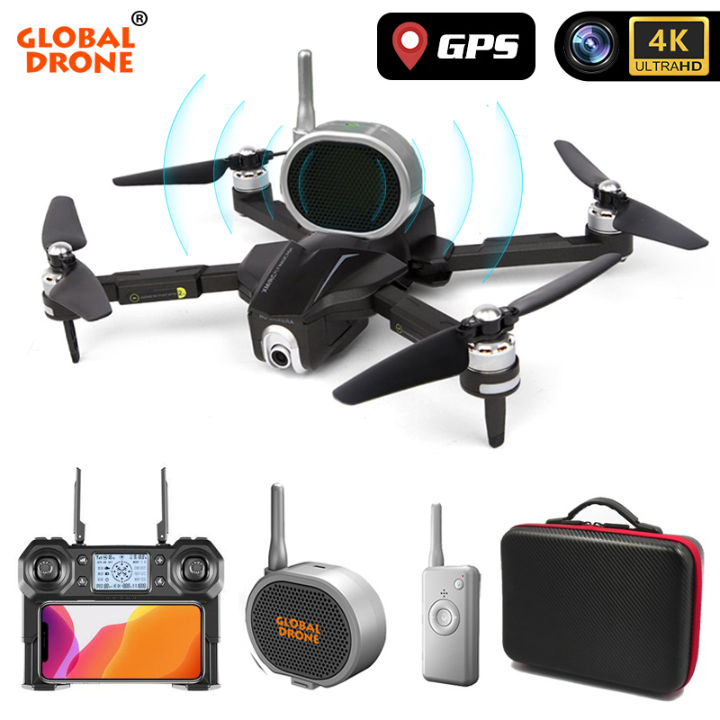 GPS Drone 4K Quadrocopter Follow Me Wifi FPV Long Time Fly Profissional Drones with Camera HD RC Dron VS SG906 K1 E520 F11 PRO 1