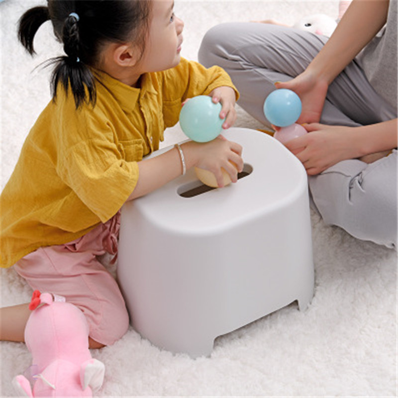 Multi-function small stool plastic low style change shoes stool children's convenience small stool toilet footstool